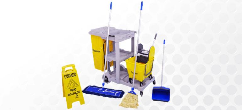 kit limpeza profissional