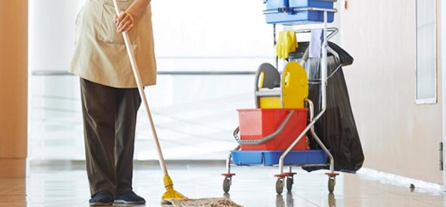 materiais para limpeza