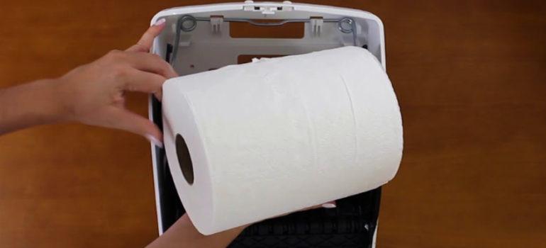 papel toalha bobina