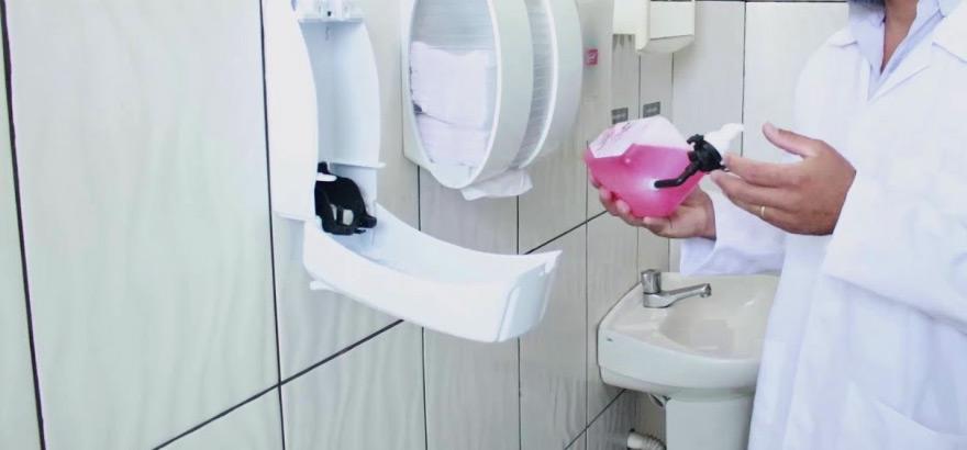 sabonete liquido toalete