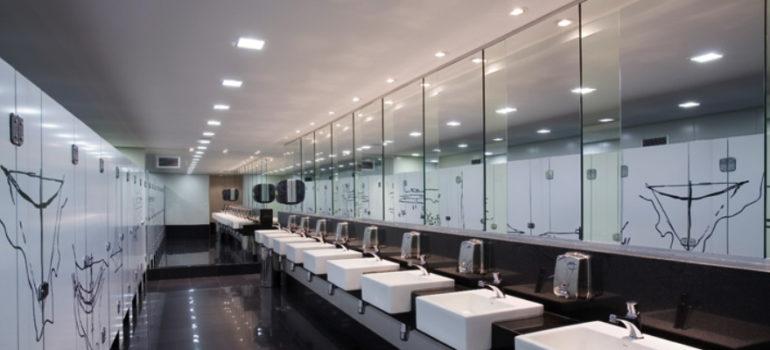 saboneteira para banheiros
