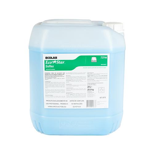 Eco Star Softex - 20 litros - Amaciante líquido e perfumado para tecidos em geral
