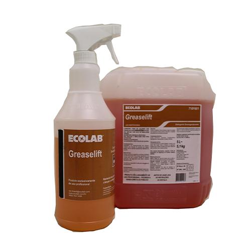 Greaselift - Limpador e Desengordurante não cáustico para limpeza pesada