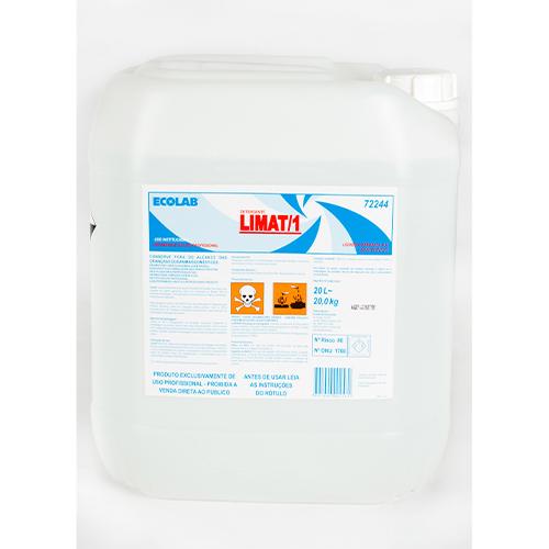 Limat I - 20 litros - Detergente líquido ácido super concentrado para uso em lavanderias