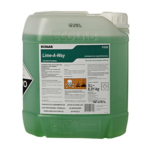 Lime-A-Way - Desincrustante ácido para remoção de incrustações calcárias