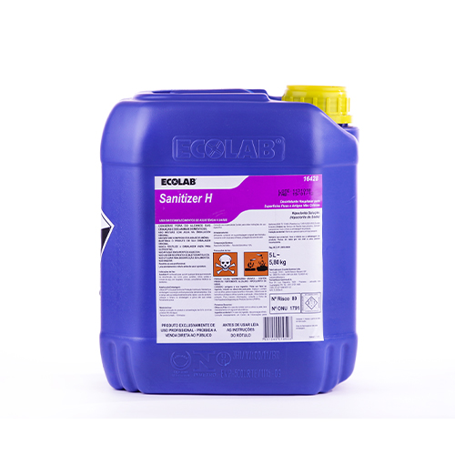 Sanitizer H - Desinfetante Hospitalar (Hipoclorito de sódio)