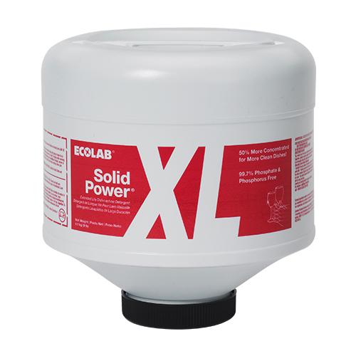 Solid Power XL - Detergente sólido alcalino para lavagem automática em máquinas de lavar louças