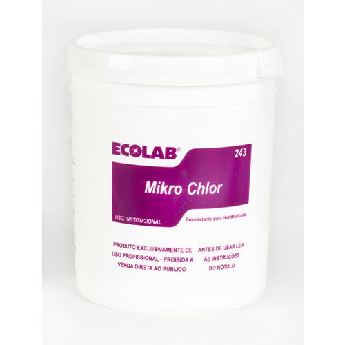 Mikro Chlor - 1 kg - Detergente e desinfetante para hortifrutícolas