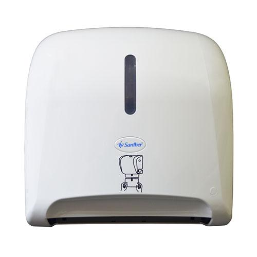 DAD10 - Dispenser para Toalha Bobina Auto Corte Titanium