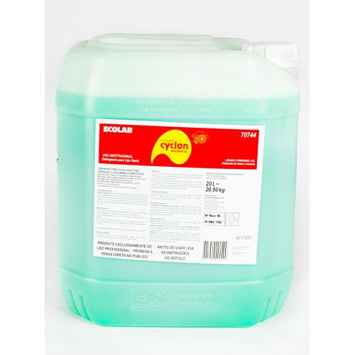 CyclonAmoniacal - 20 litros - Multiuso - Detergente para uso geral com alto poder de remoção de gordura