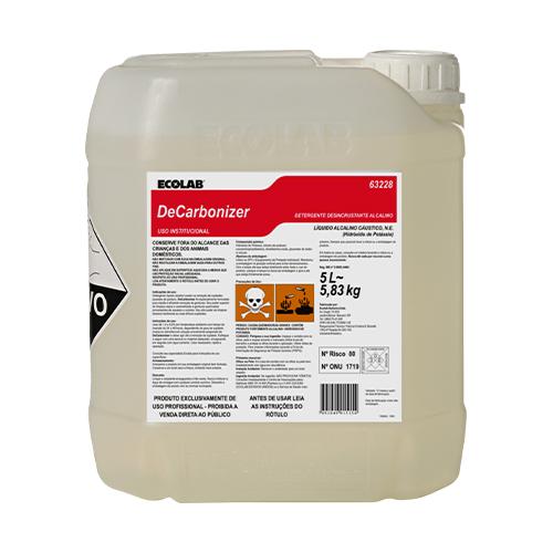 Decarbonizer - Detergente desincrustante alcalino para gorduras caramelizadas e queimadas