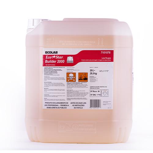 Eco Star Builder 2000 -20 litros - Aditivo alcalino para lavanderias
