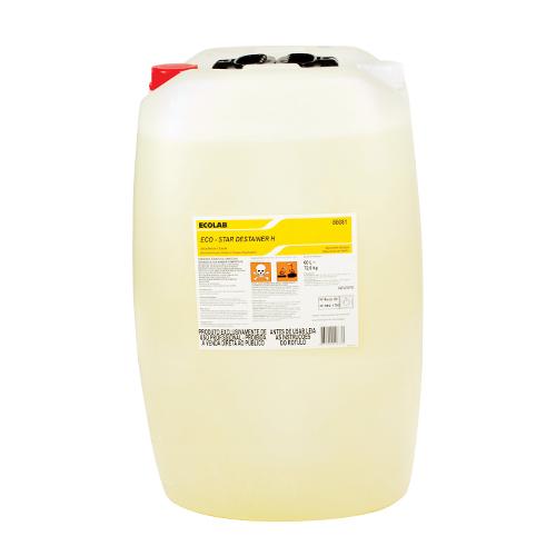 Eco Star Destainer H - Alvejante e desinfetante (hipoclorito de sódio) para tecidos e roupas hospitalares