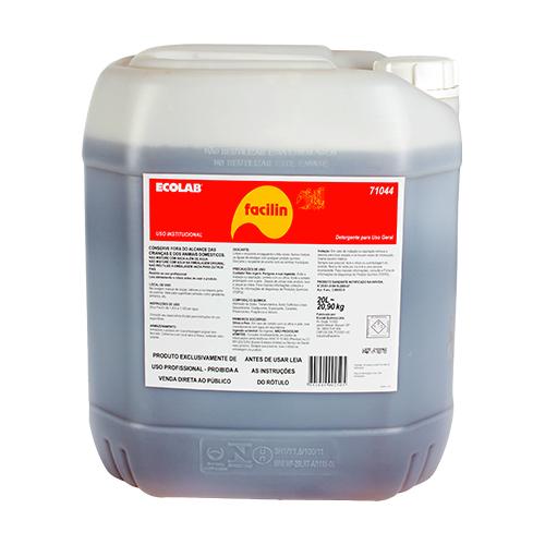 Facilin - Detergente líquido concentrado para lavagem manual de louças