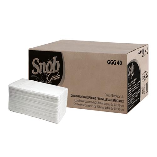 GGG40 - Guardanapo Snob Gala Grande Folha Dupla