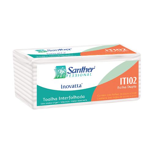 ITI02 - INOVATTA® Toalha Interfolhada dupla 2 dobras