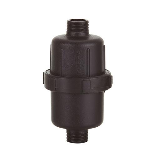 LALL02 - Filtro 60 micra alta pressão com válvula de retenção interna