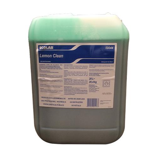 Lemon Clean - 20 litros - Detergente líquido neutro para limpeza geral de baixa espumosidade