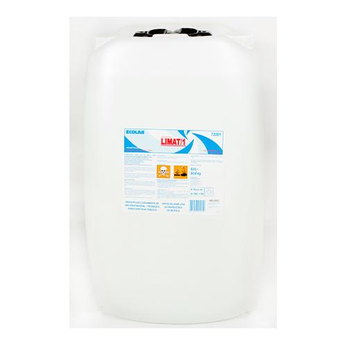 Limat I - 60 litros - Detergente líquido ácido super concentrado para uso em lavanderias