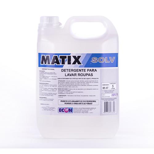 Matix Solv - Detergente para lavanderia, solvente para gorduras e graxas