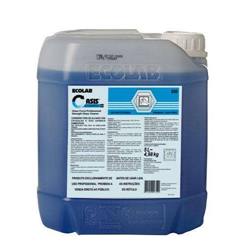 OC42-Glass Force Professional Strength - 5 litros - Detergente para limpeza de vidros