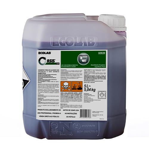 OC63-H - 5 litros - Detergente e Desinfetante (Quartenário de amônia)