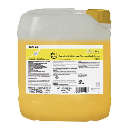 OP Peroxide MSCD - 4,5 litros - Limpador e Desinfetante hospitalar (peróxido de hidrogênio)