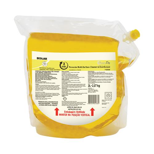 OP Peroxide MSCD - Bag 2 litros - Limpador e Desinfetante Hospitalar (Peróxido de hidrogênio)