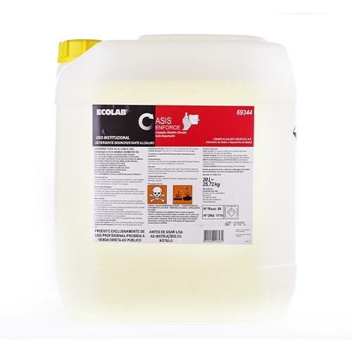 Oasis Enforce - 20 litros - Detergente Desincrustante Alcalino Clorado