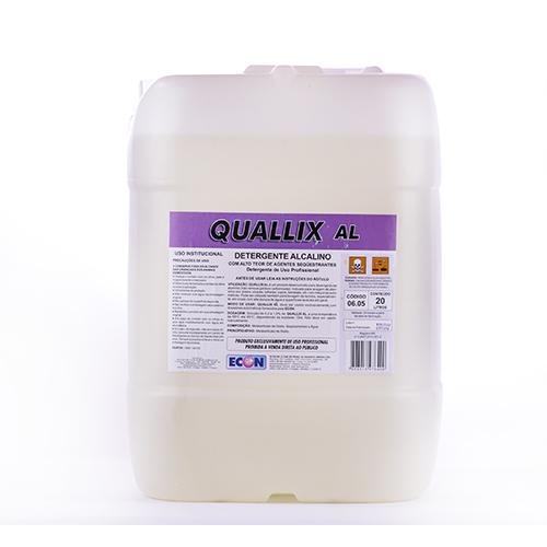 Quallix AL - Detergente desengordurante ideal para água calcária