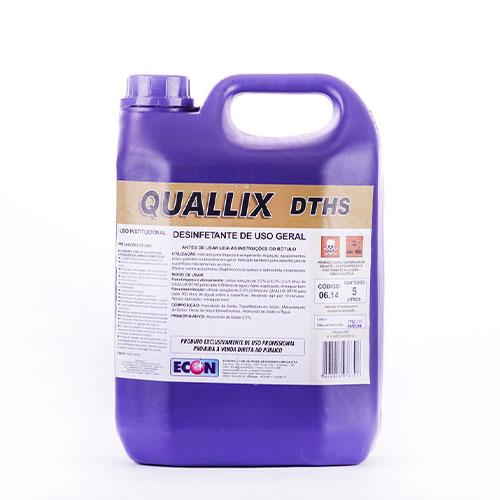 Quallix DTHS - Limpador Desinfetante Alcalino Clorado