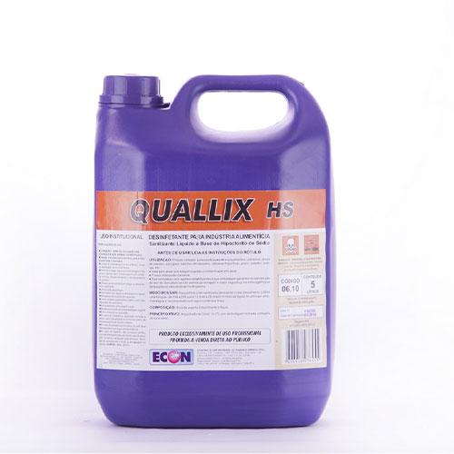Quallix HS - Desinfetante (Hipoclorito de Sódio)