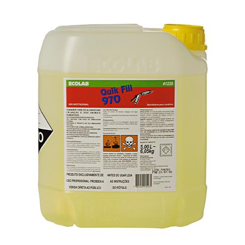 Quik Fill 970 - Desinfetante para Lactários (Hipoclorito de sódio)