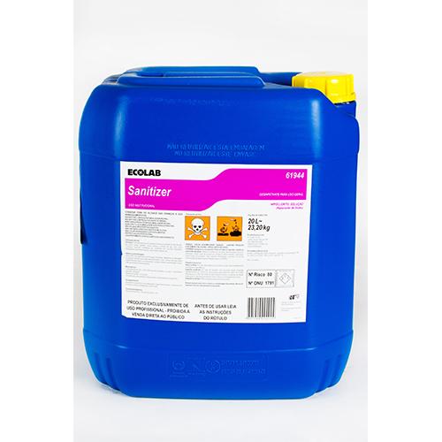 Sanitizer - Desinfetante (hipoclorito de sódio) para uso geral
